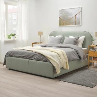 Ліжка з оббивкою