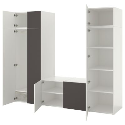 platsa гардеробна шафа з 8 дверцятами