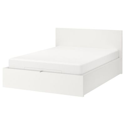 malm ліжко з підіймальним механізмом