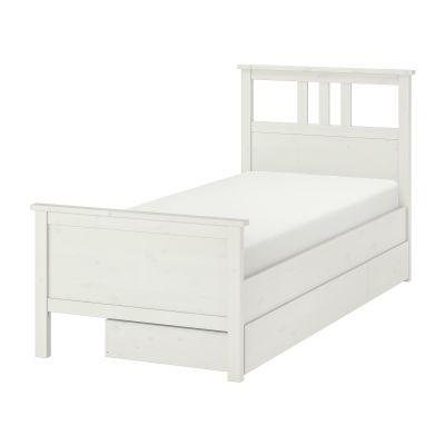 hemnes каркас ліжка 2 коробки для зберіг