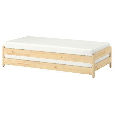 utaker штабельоване ліжко з 2 матрацами