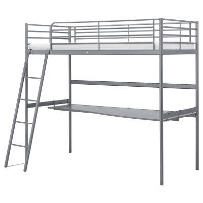 svarta каркас ліжкагорища з столешнею