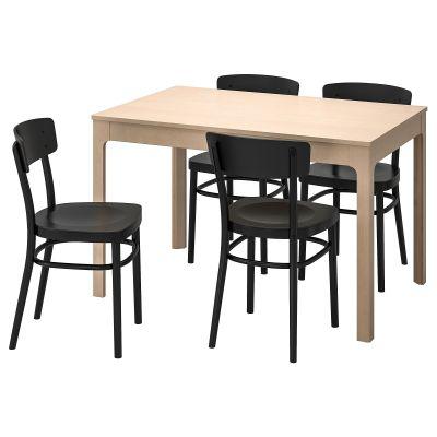 ekedalen / idolf стіл і 4 стільці