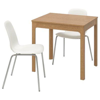 ekedalen / leifarne стіл і 2 стільці