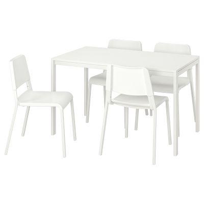 melltorp / teodores стіл і 4 стільці