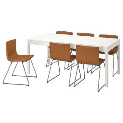 ekedalen / bernhard стіл і 6 стільців