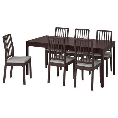 ekedalen / ekedalen стіл і 6 стільців