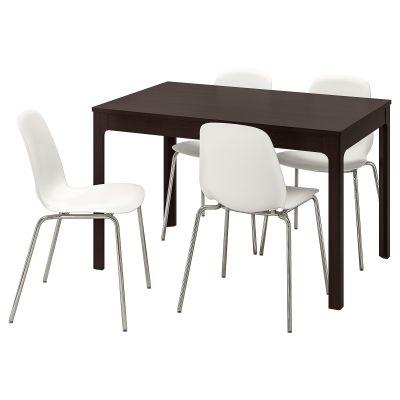 ekedalen / leifarne стіл і 4 стільці