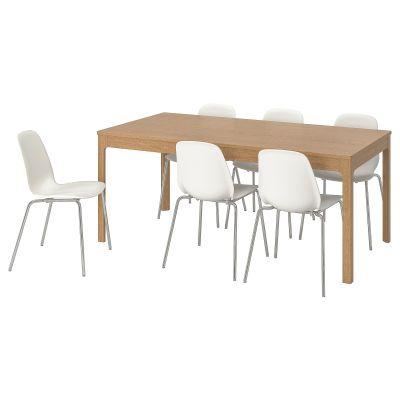 ekedalen / leifarne стіл і 6 стільців