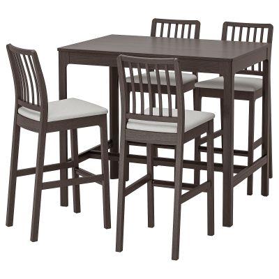 ekedalen барний стіл і 4 барні стільці