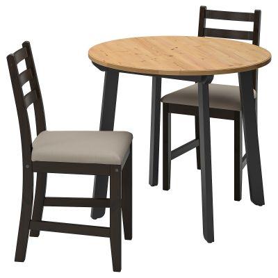 gamlared / lerhamn стіл і 2 стільці