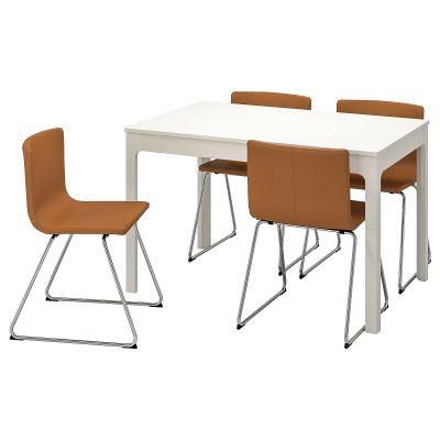 ekedalen / bernhard стіл і 4 стільці