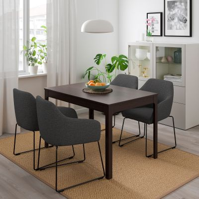 ekedalen / tossberg стіл і 4 стільці