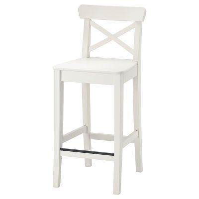 ingolf барний стілець зі спинкою
