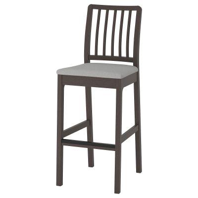 ekedalen барний стілець зі спинкою
