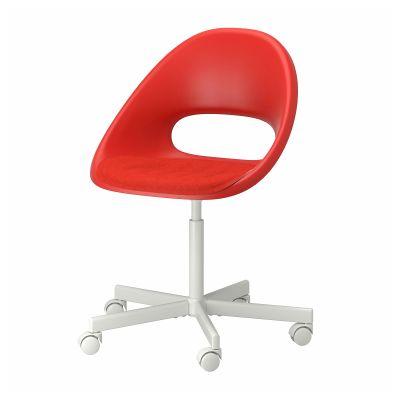 eldberget / blyskar обертовий стілець із подушкою