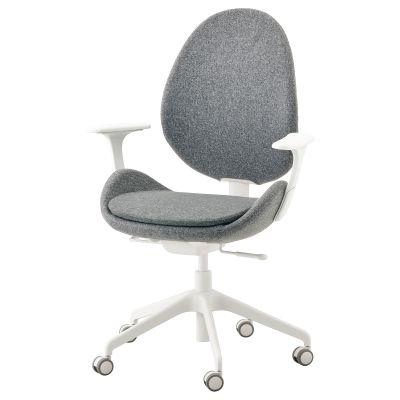 hattefjall офісний стілець з підлокітником