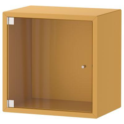 eket шафа навісна зі скляними дверцятами