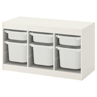 trofast комбінація для зберіган з контейнерами 56 см
