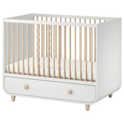 myllra ліжко для немовлят з шухлядою