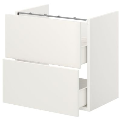 enhet підлогова шафа для мийки+2 шухляди