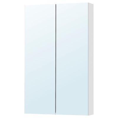 godmorgon шафа дзеркальна із 2 дверцятами60x14x96 см