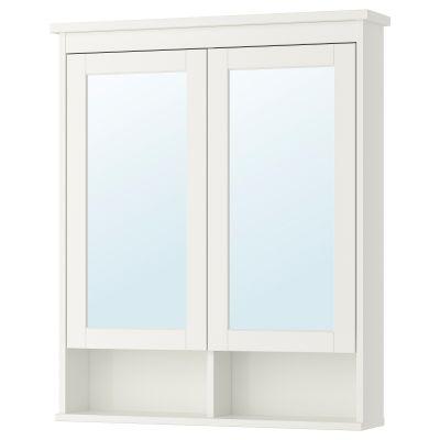 hemnes шафа дзеркальна із 2 дверцятами