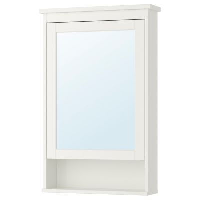 hemnes шафа дзеркальна із 1 дверцятами