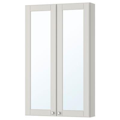godmorgon шафа дзеркальна із 2 дверцятами