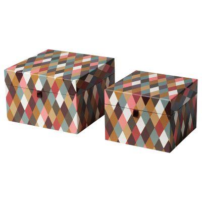 dekorera коробка з кришкою набір із 2 шт.
