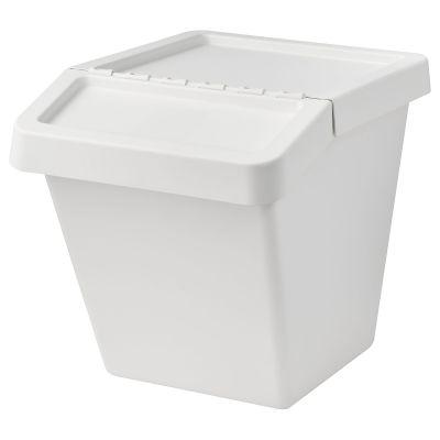 sortera кошик для сміття із кришкою