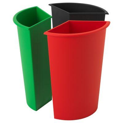 kardorna вставка для сортування сміття 3 шт.