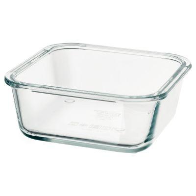 ikea 365+ харчовий контейнер квадратна форма
