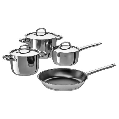 oumbarlig набір посуду 4 предмета