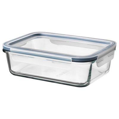 ikea 365+ харчовий контейнер із кришкою прямокутний