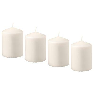 hemsjo неароматична формова свічка