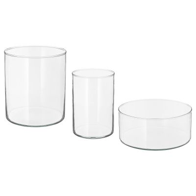 cylinder ваза/миска 3 шт