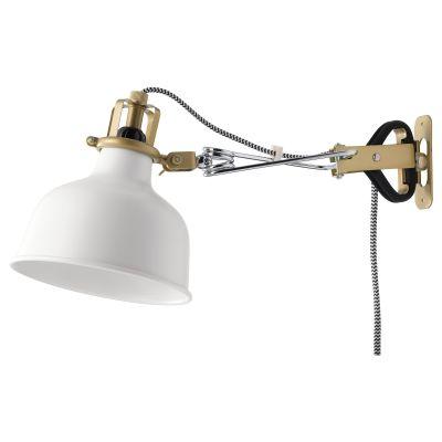 ranarp світильник настінний/із затискачем