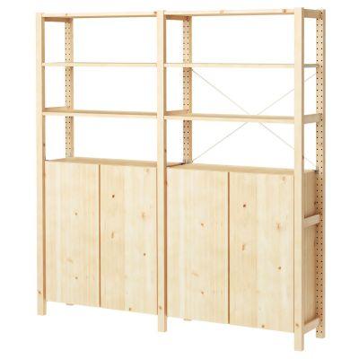 ivar 2 секції/полиці/шафа