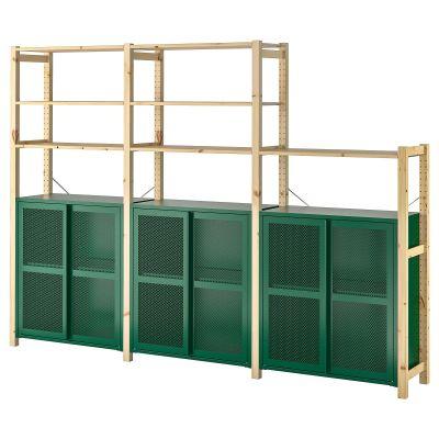 ivar 3 секції/полиці/шафа