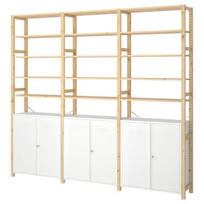 ivar 3 секції/шафа/полиці