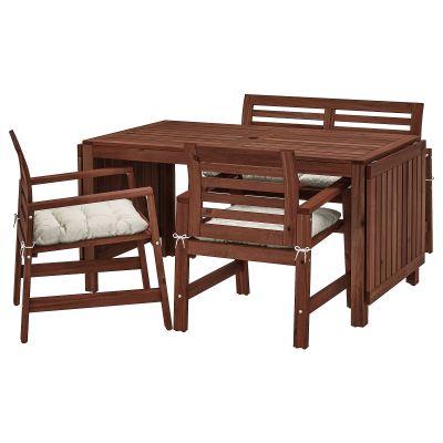 applaro стіл 2 крісла і лава