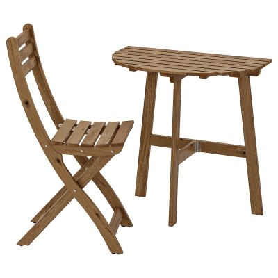 askholmen стіл стін кріпл і 1 склад стіл/вуличн