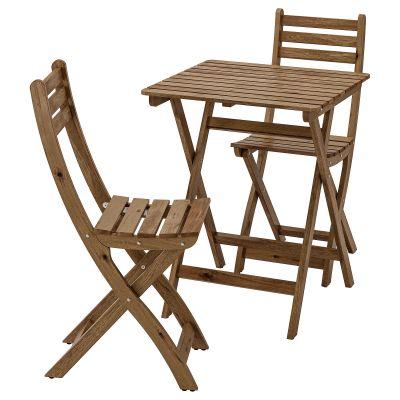 askholmen стіл і 2 стільці