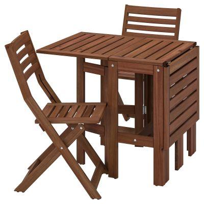 applaro стіл і 2 складані стільці