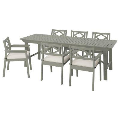 bondholmen стіл і 6 стільців з підлокітниками