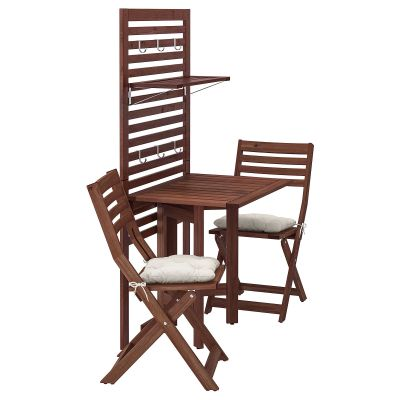 applaro стіл і 2 стільці + стінна панель