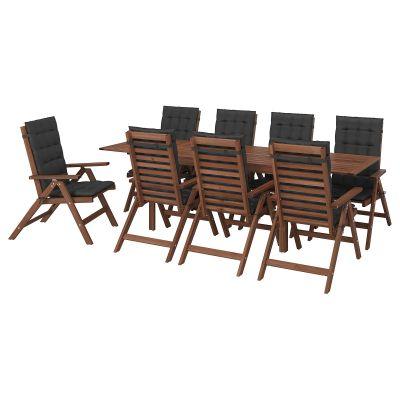applaro стіл і 8 складаних стільців