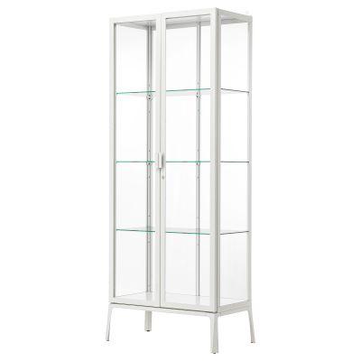 milsbo шафа зі скляними дверцятами