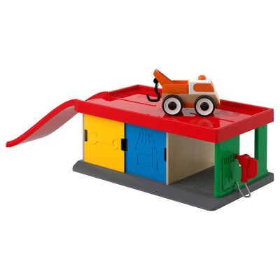 lillabo гараж із автомобілемтягачем